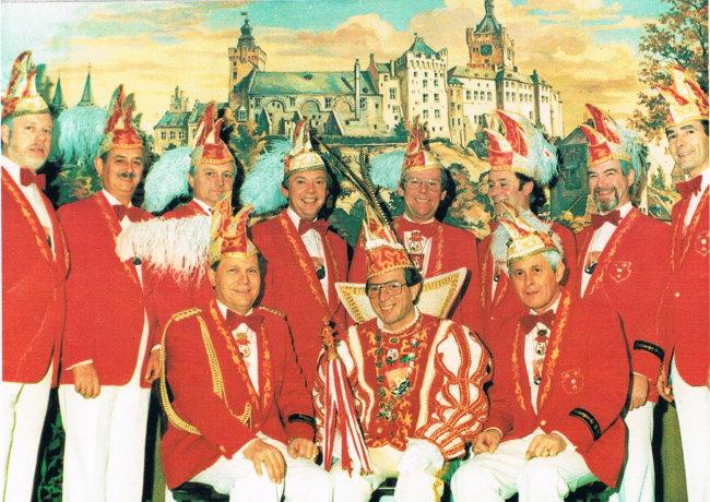 Klever Prinzengarden der 80er Jahre - Teil 1