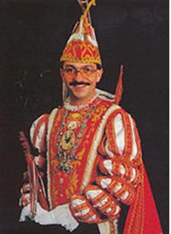 """1986 Prinz Peter der Putzige """"Peter Eerden"""""""