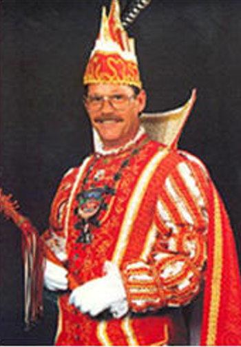"""1991-92 Prinz Hans-Gerd der Spritzige """"Hans-Gerd Kersjes"""""""