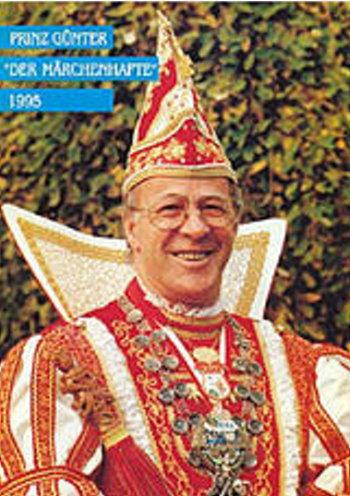 DIE KLEVER KARNEVALSPRINZEN VON 1995 – 1999 UND IHRE PRINZENORDEN