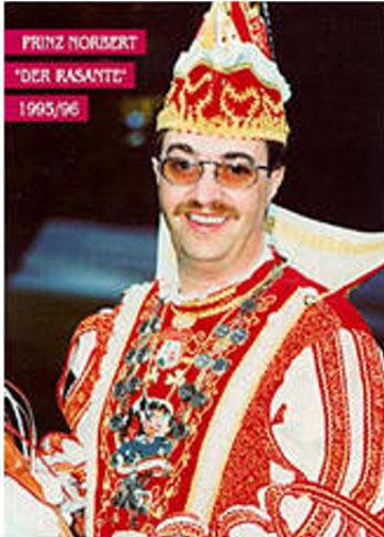"""1996 Prinz Norbert der Rasante """"Norbert Pauls"""""""