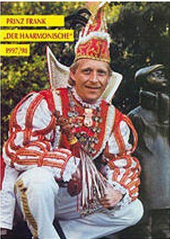 1998 Prinz Frank der Haarmonische Frank de Schauwer