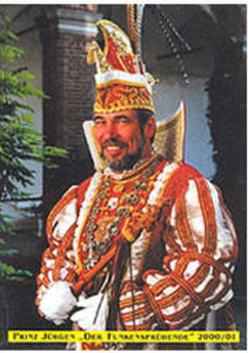 """2001 Prinz Jürgen der Funkensprühende """"Jürgen Dußling"""""""