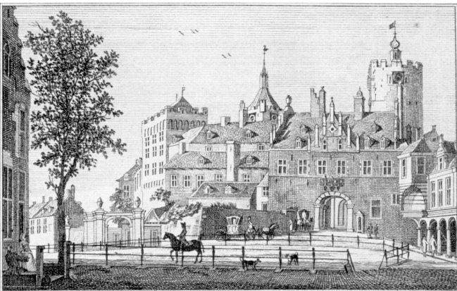 Beeindruckend: Die fantastische Schwanenburg um 1745