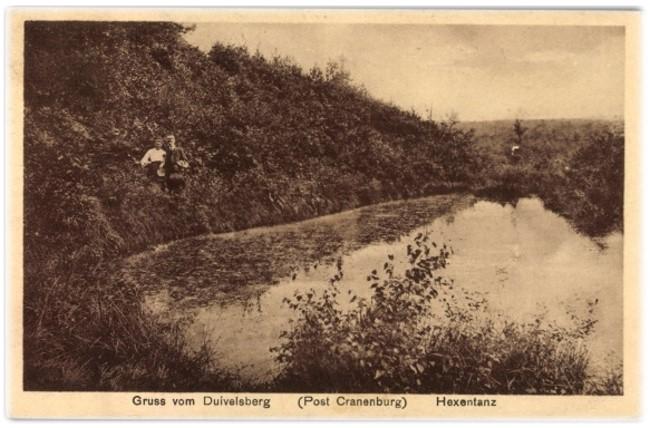 Hexentanz im Duivelsberg bei Kleve