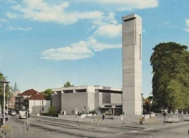 Die Versöhnungskirche im Jahre 1970