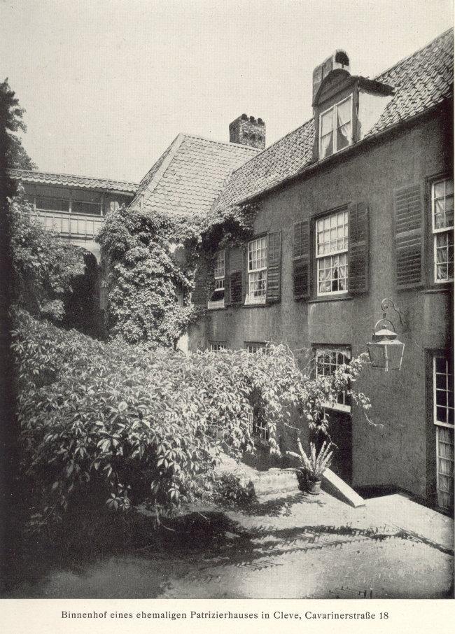Een historisch patriciërshuis Cavarinerstrasse Cleve