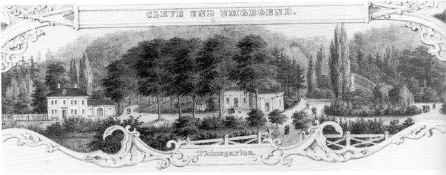 Haus Beyerinck - Als Kleve noch kein Kurhotel hatte
