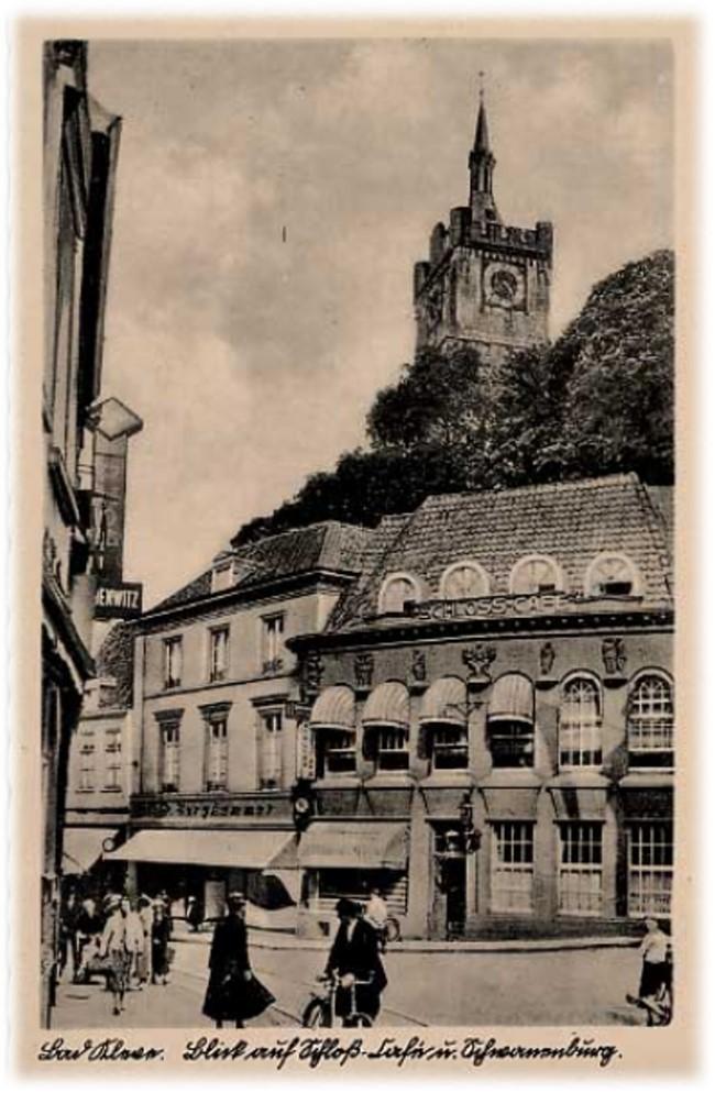Een droom: het prachtige Schloss-Cafe 'uit Bad Cleve