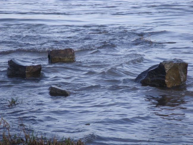 Die schwimmenden Steine von Kleve