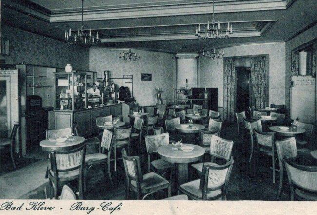 Kanntest Du das Burg-Cafe' in Kleve?