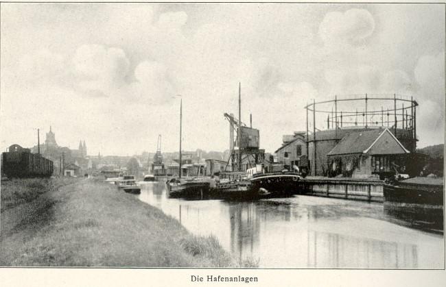 Die Klever Hafenanlagen