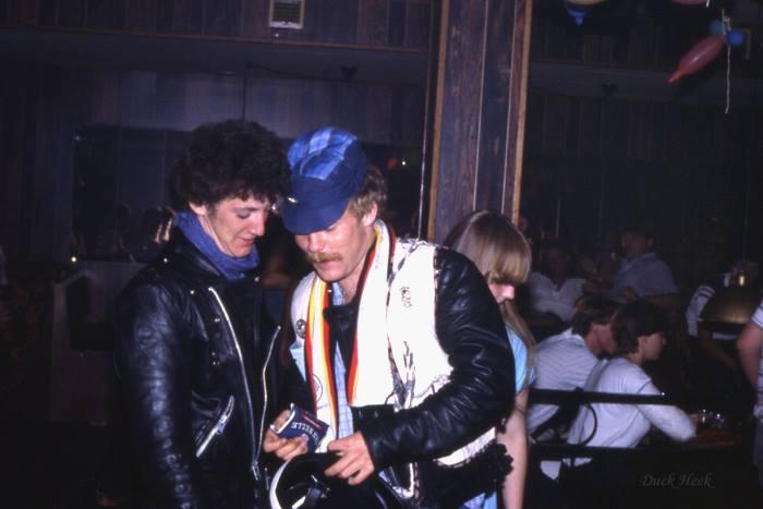 Stond er al een mobiele telefoon in de Klever discotheek Limit?
