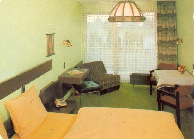 Ein Zimmer im Schweizerhaus