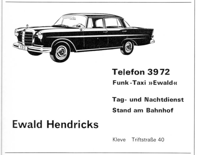 Ein Klever Taxi namens