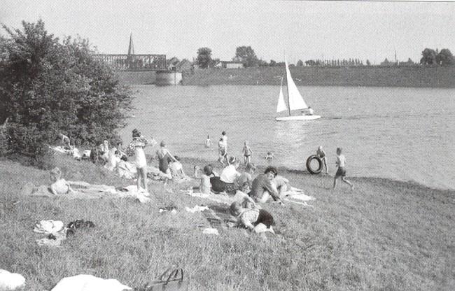 Heb je ook gezwommen in de Oude Rijn bij Griethausen?