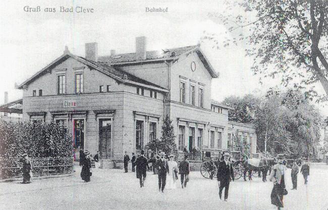 Betriebsamkeit am Klever Bahnhof