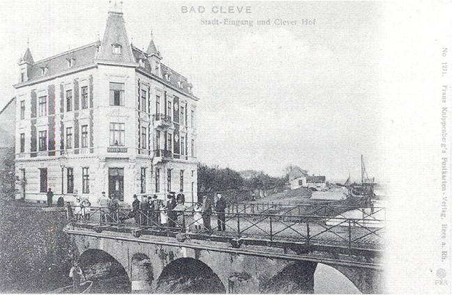 Das Hotel Clever Hof am Stadteingang
