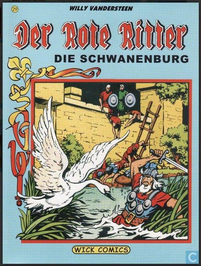 Bekend? De rode ridder op de Schwanenburg