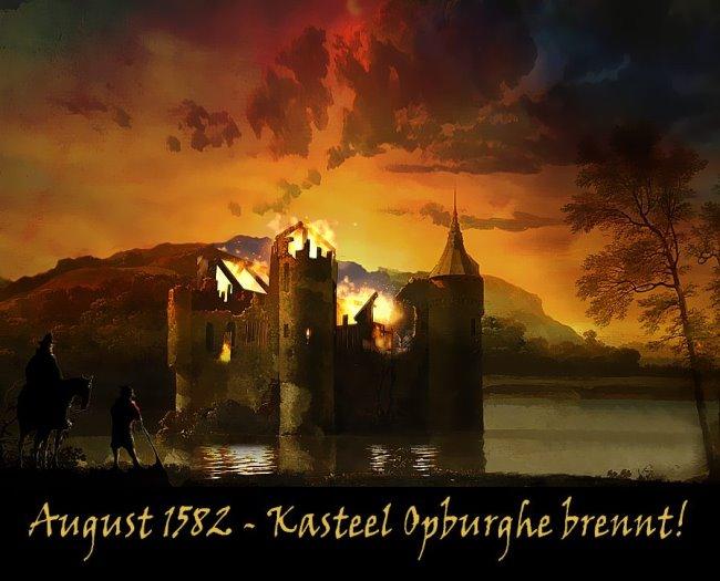 kasteel ubbergen brennt