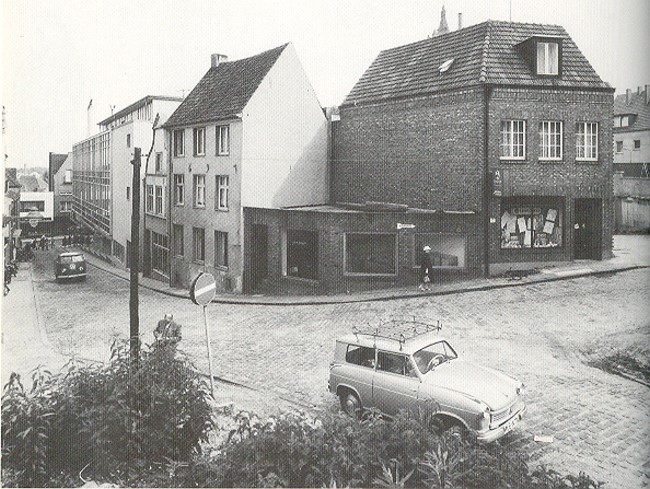 Die unbekannte Marktstraße von Kleve