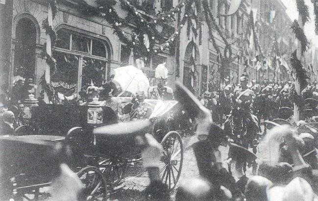 Handys in Kleve im Jahre 1909