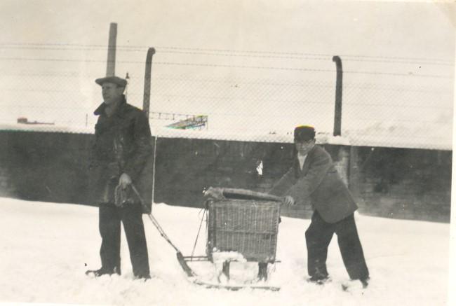 Lang geleden - sledetocht in Kellen