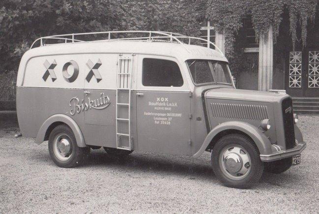 Kanntest Du noch die typischen XOX-Lieferwagen aus Kleve?