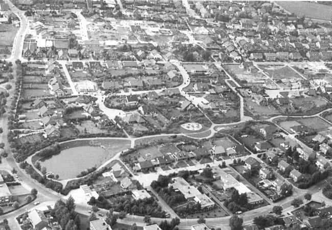 Das Wohngebiet Materborn in den Achtzigern