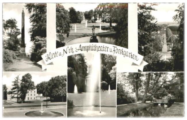 Amphitheater und Forstgarten