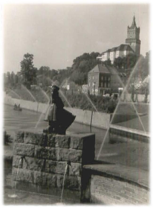 Het had iets: de fonteinen aan de oevers van de Spoy