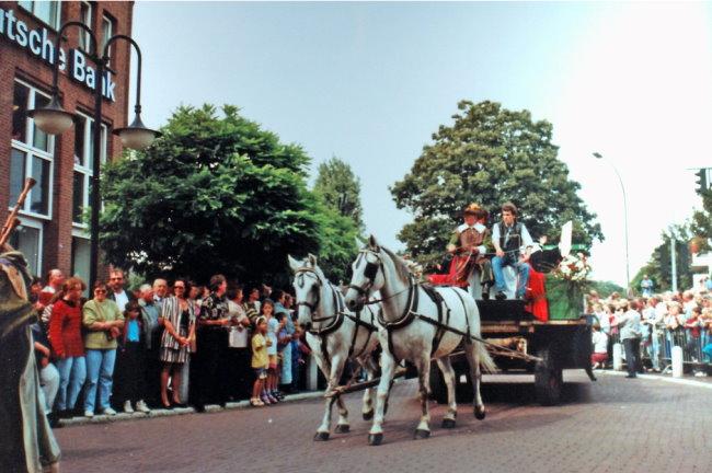 Weet je nog Parade voor het 750-jarig bestaan van Kleve