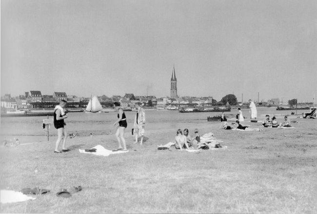 Das Strandbad in Warbeyen