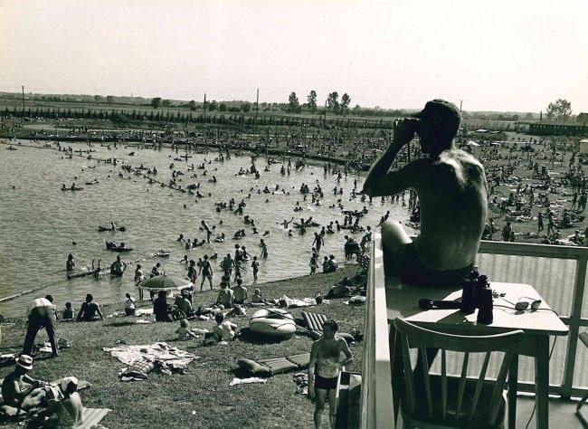 Heeft u ook gezwommen in het zwembad in Wissel?