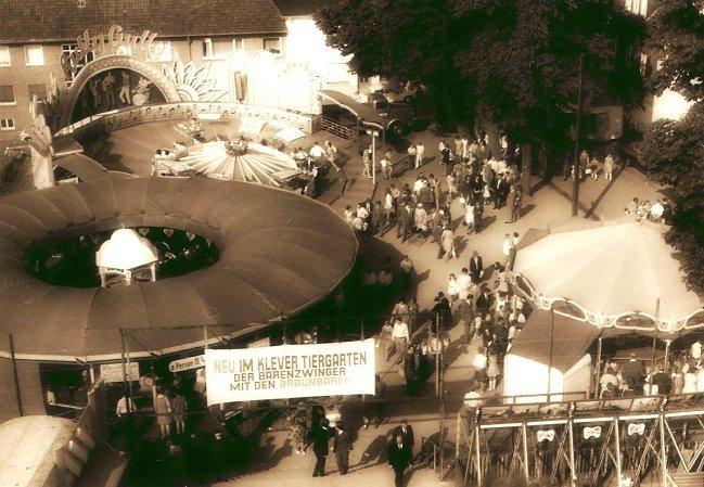 Kennst Du noch die Klever Kirmes auf dem Großen Markt?