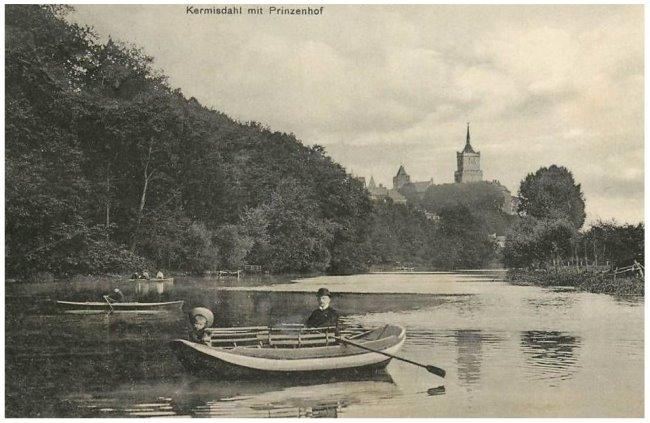 Die Schwanenburg als Prinzenhof