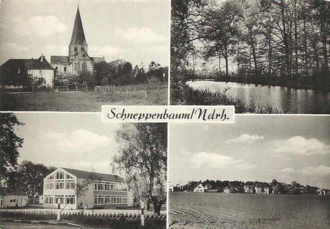 Schneppenbaum bij Kleef