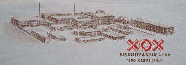 XOX - Die große Biskuitfabrik von Kleve
