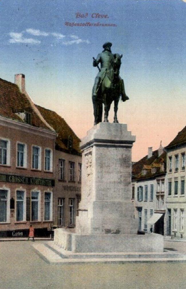 De Hohenzollernbrunnen van Bad Cleve