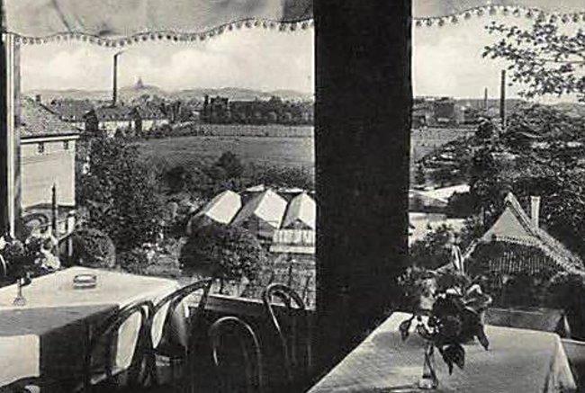 Het ongelooflijke uitzicht vanaf Hotel Bollinger