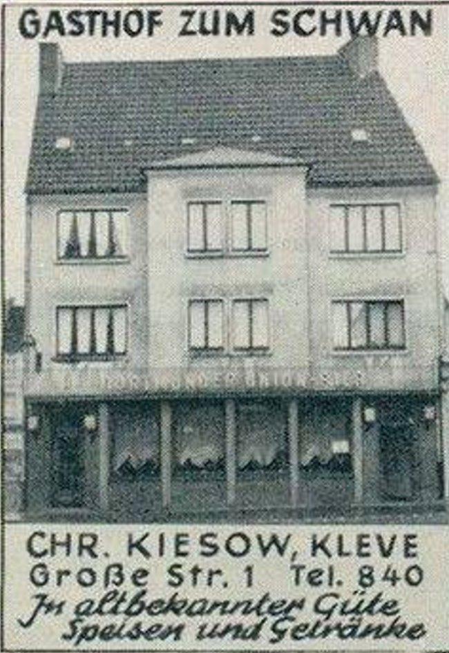 Gasthof Zum Schwan auf der Großen Straße