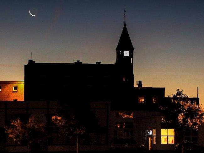 Zo mooi is Bensdorp 's avonds