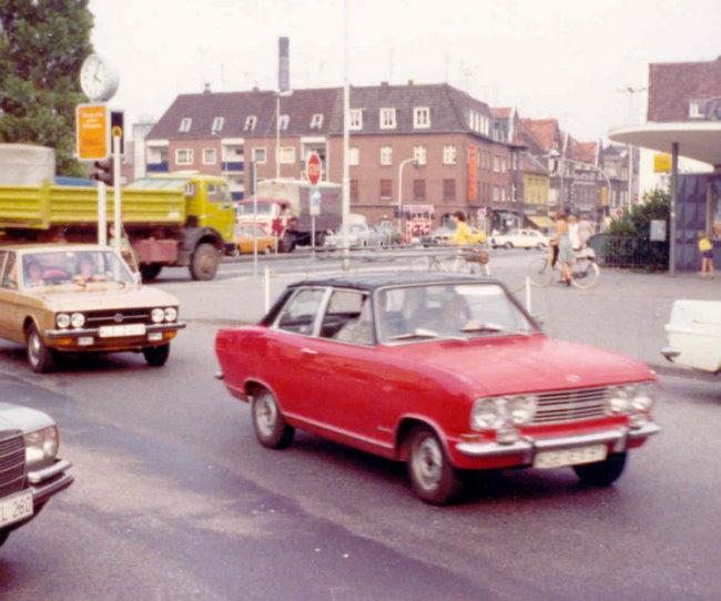 Heeft u in de jaren 70 ook deelgenomen aan het wegverkeer in Kleve?