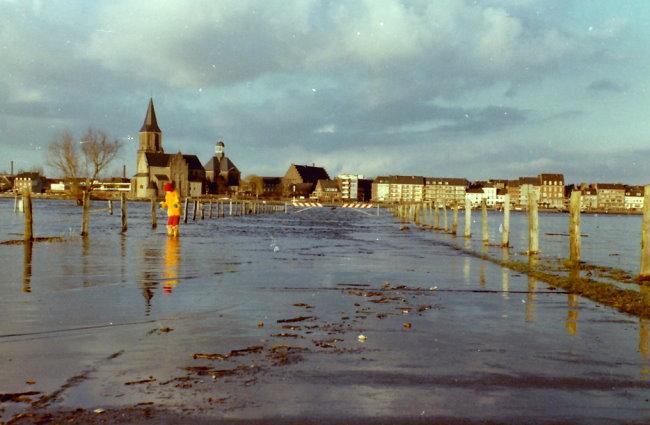 Immer mal wieder Hochwasser im Kleverland