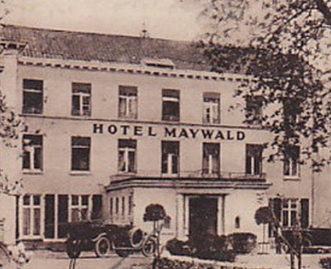 Das Entree zum Hotel Maywald