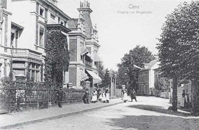 Der Eingang zur Ringstraße