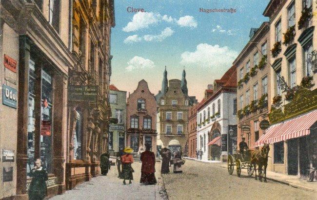 Die farbige Hagschestraße?
