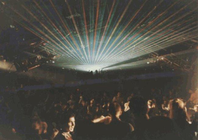 Ben je daar geweest? Lasershow in het World Center