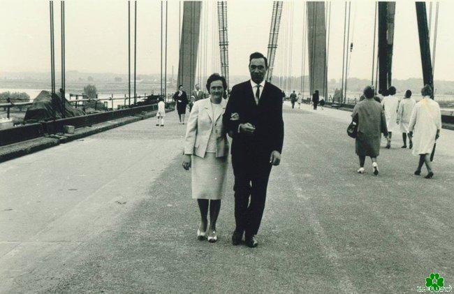 Ooit over de Rijnbrug gelopen?