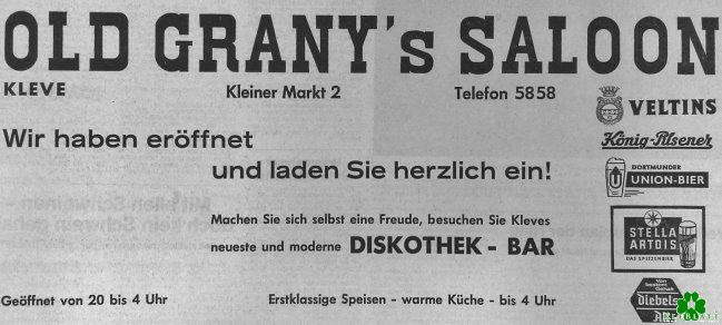 Old Grany's Saloon hat eröffnet!